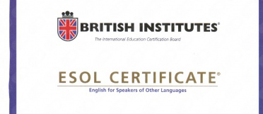 British Institutes Esol Certificate