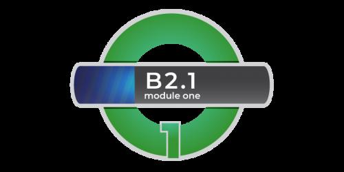 corso di inglese livello B2.1 modulo 1