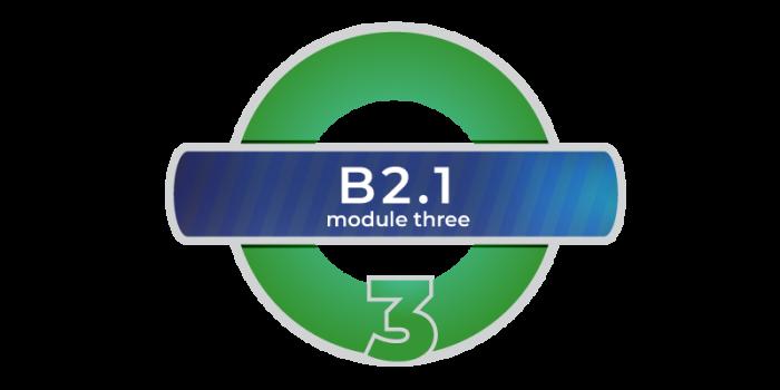 corso di inglese B2.1 online modulo 3