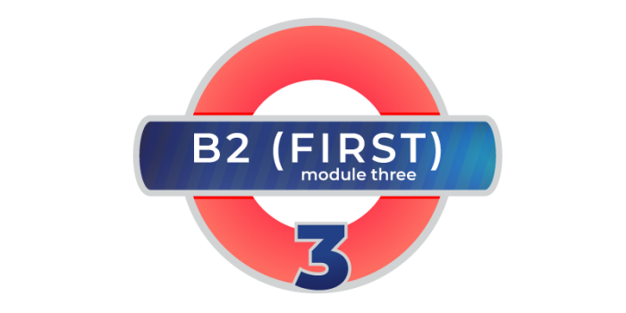 Cambridge First B2 modulo 3
