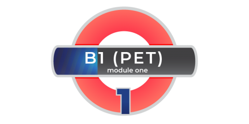 Corso inlgese Cambridge PET B1 Modulo 1