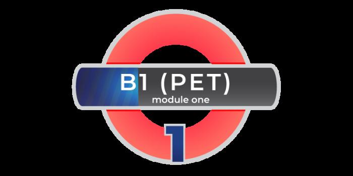 Corso inlgese Cambridge PET B1 Modulo 1