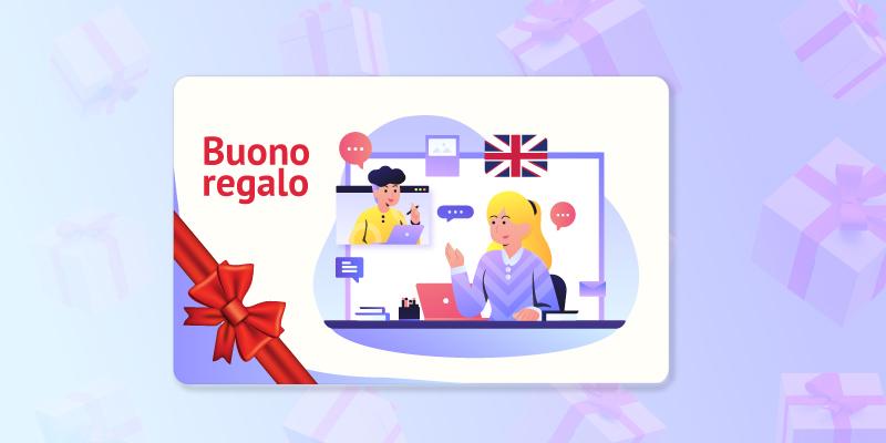 Voucher regalo corso di inglese