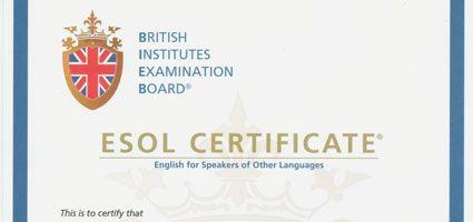 Certificazione B2 British Institutes online